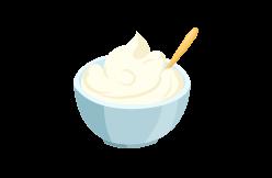 crèmes et spécialités à base de crème
