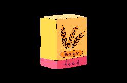 céréales et biscuits infantiles