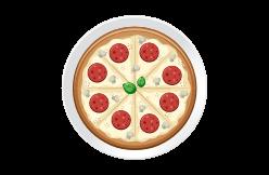 pizzas, tartes et crêpes salées