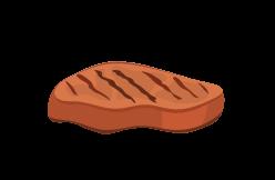 viandes cuites